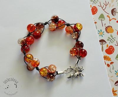 Bransoletki w kolorach jesieni