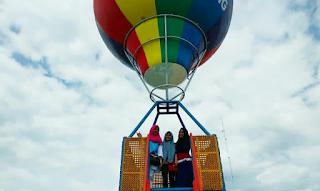 Balon udara Wisata Agro Nadin Sei Piring Kampar