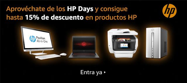 Mejores ofertas HP Days de Amazon julio de 2017