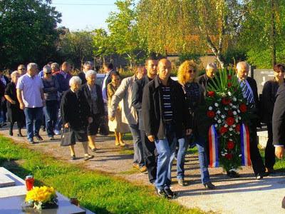 Sjećanje na poginule branitelje 101. bosanskobrodske brigade, 6.10.2012. g.