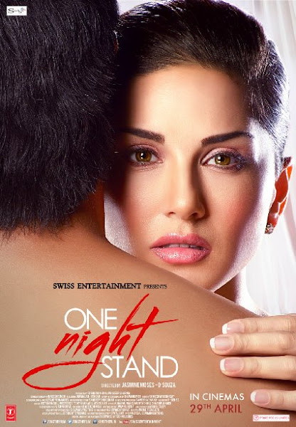 Poster Of One Night Stand 2016 480p Hindi DVDScr Full Movie Download