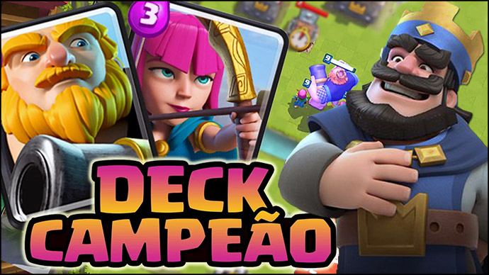 Deck vencedor do Torneio ESWC 2016 Royale - 1