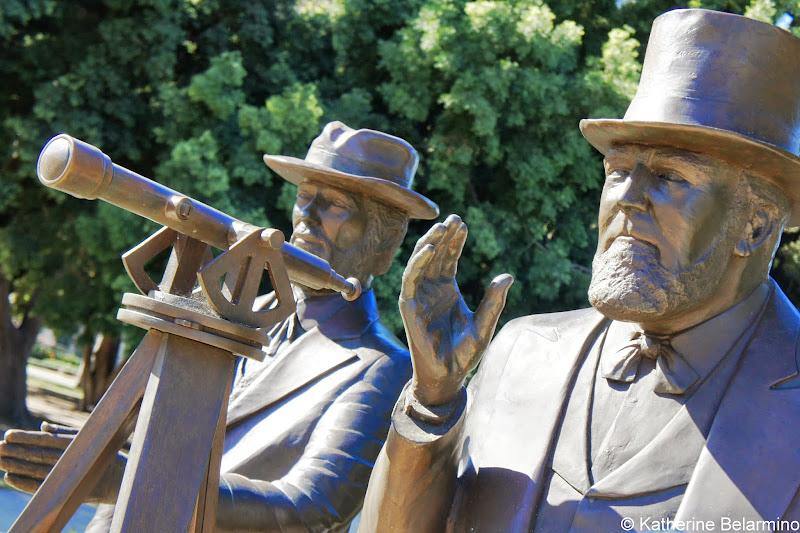 San Diego Founders Statues Balboa Park San Diego Segway Tours
