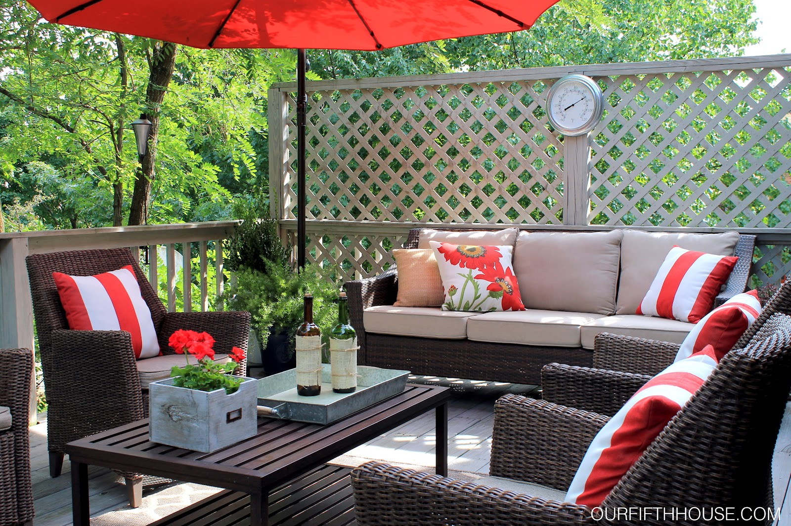 Outdoor Living Deck Updates Our Fifth House