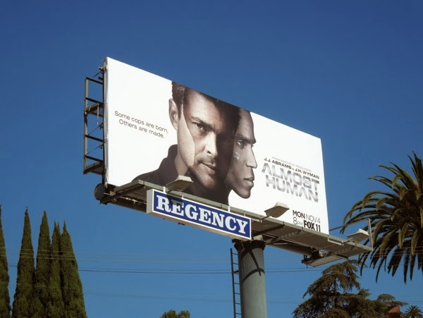 Almost Human billboard