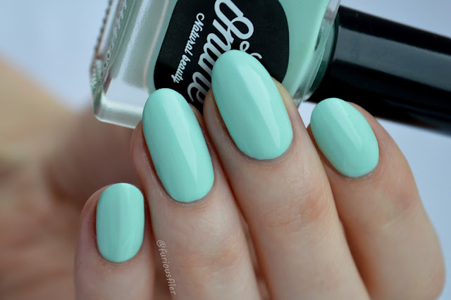 little ondine ripple pastel mint swatch