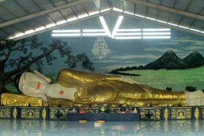 Patung Budha Tidur Raksasa Ini Bukan Di Thailand Loh!