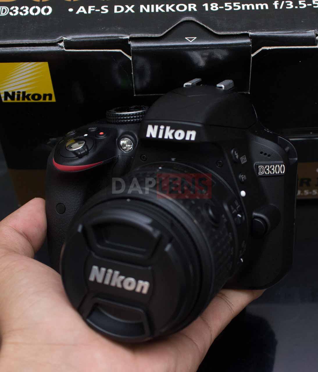 Daplens Nikon D3300 Kit 18 55mm Vr Ii Fullset Like New Murah