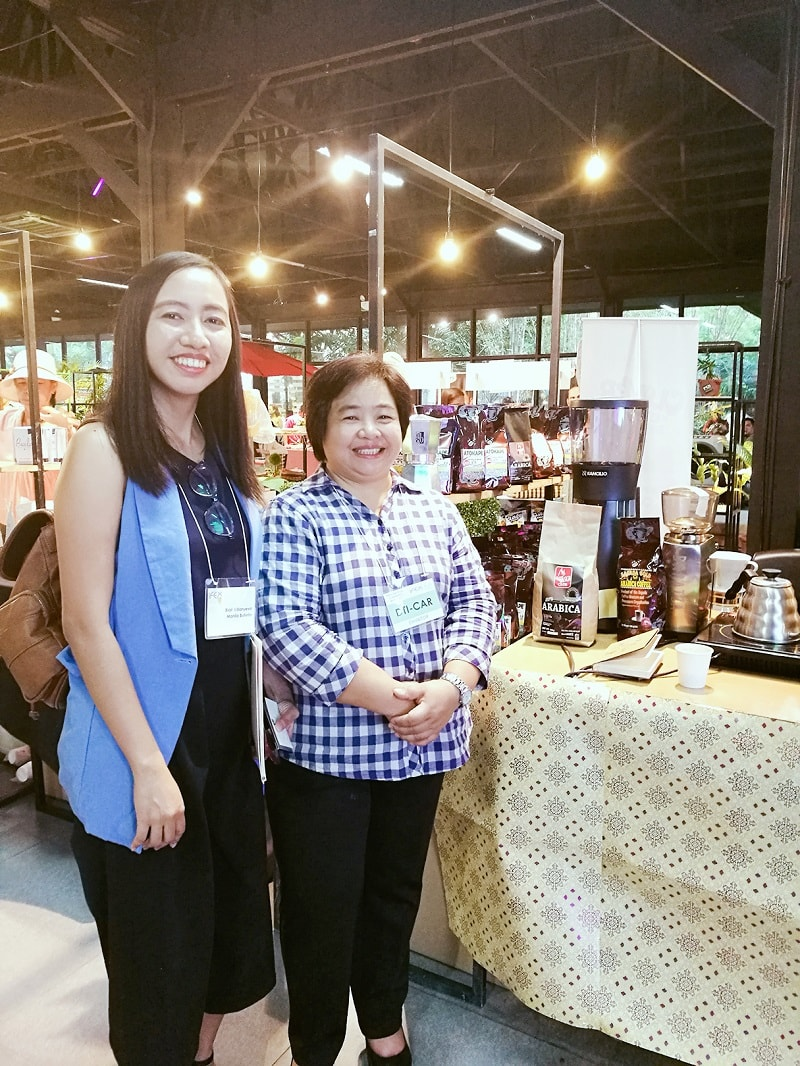 I've got a chance to meet the super active lady here, the Regional Director of DTI-CAR Region Ms. Juliet.