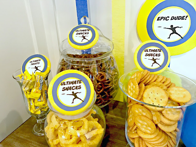 Ultimate Frisbee Party Snacks @michellepaigeblogs.com