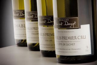 Chablis from Domaine Vincent Dampt