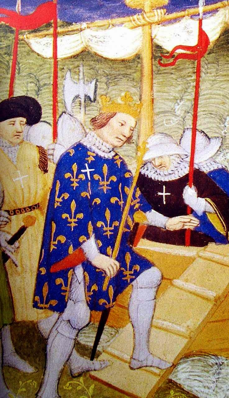 São Luis embarca para a Cruzada