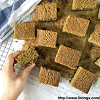 Vegan Matcha Azuki Brownies *easy*