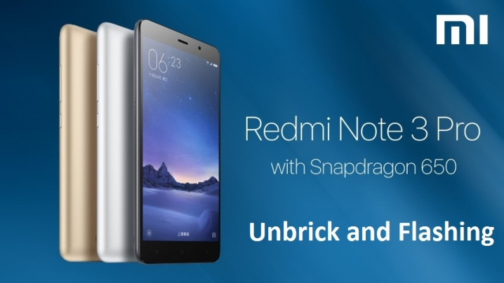 Flash (Unbrick) Redmi Note 3 /pro with Locked Bootloader