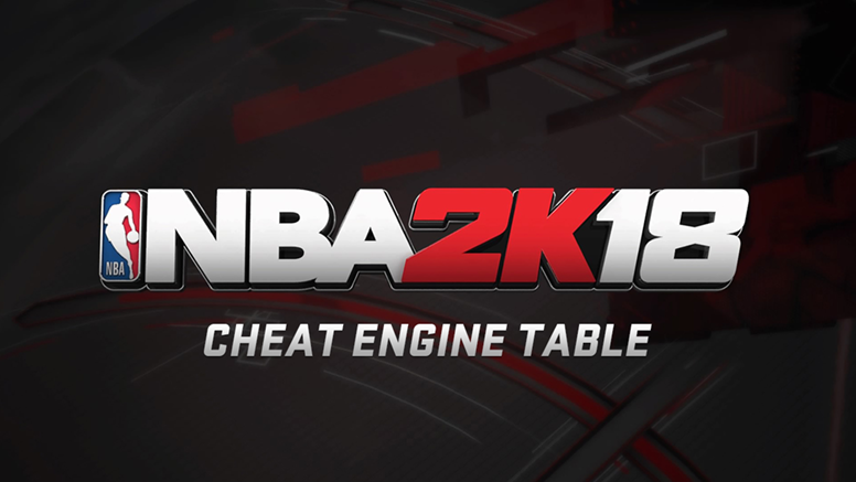 nba2k18 cheat table