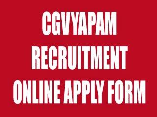 cgvyapam-org-in-job
