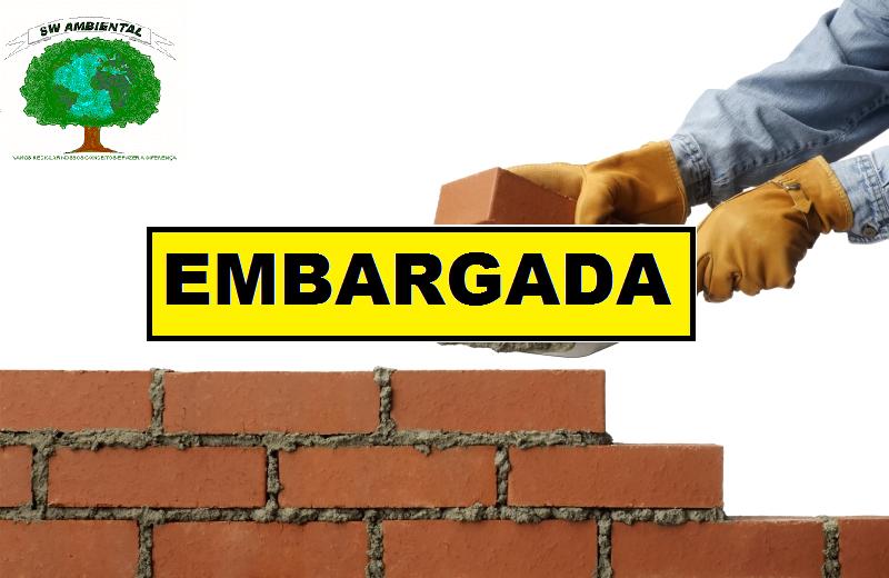 ... que possa causar acidente ou doença relacionada ao trabalho com lesão  grave à integridade física do trabalhador. Diferença entre interdição e  embargo  22eacc88e1