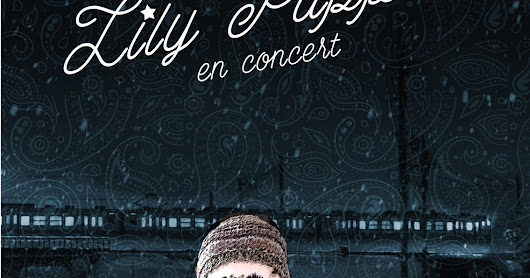 Affiche spectacle Lily Puppet