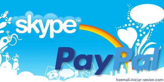 Paypal y Skype se unen hotmail iniciar sesion