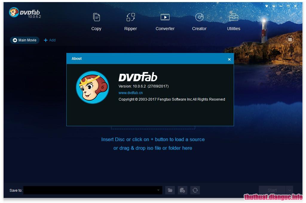 Download DVDFab 10.2.0.1 Full Cr@ck + Portable – Phần mềm sao chép ghi DVD