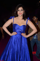 Mannara Chopra in Deep Neck Blue Gown at Zee Telugu Apsara Awards ~  Exclusive 025.jpg