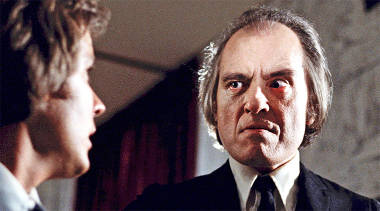 Bill Thornbury und Angus Scrimm in DAS BÖSE (Don Coscarelli, 1979). Quelle: Koch Media Blu-ray Screenshot (skaliert)