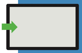 swipe dalla sinistra Come usare la gesture in Windows 10