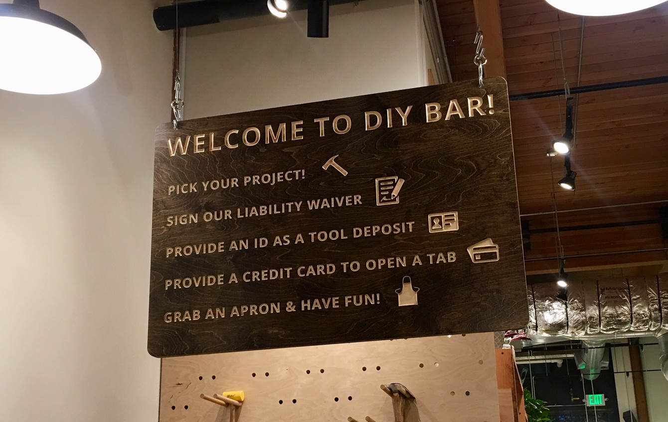DIY Bar Portland Oregon Review