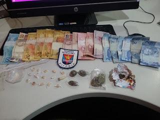 Casal detido por tráfico de entorpecentes pela Guarda Municipal de Vitória (ES)
