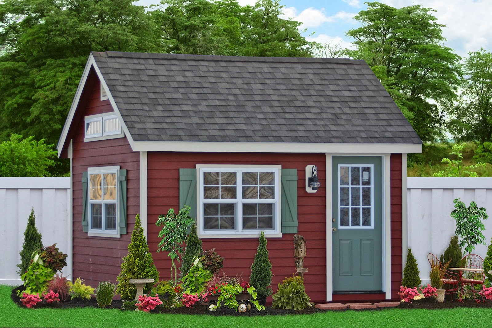 New home office sheds for sale for Cheap garden office buildings