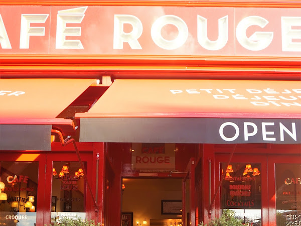 CAFE ROUGE, DULWICH