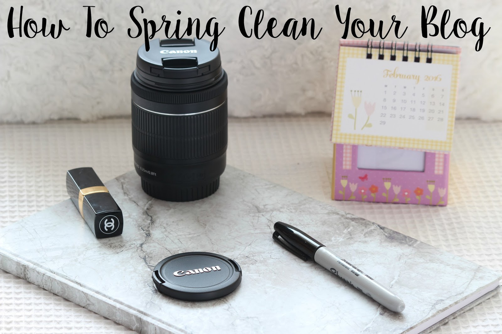 How To Spring Clean Your Blog advice tips help UK lifestyle