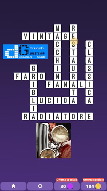 Soluzioni One Clue Crossword livello 24 schemi 2 (Cruciverba illustrato)    Parole e foto