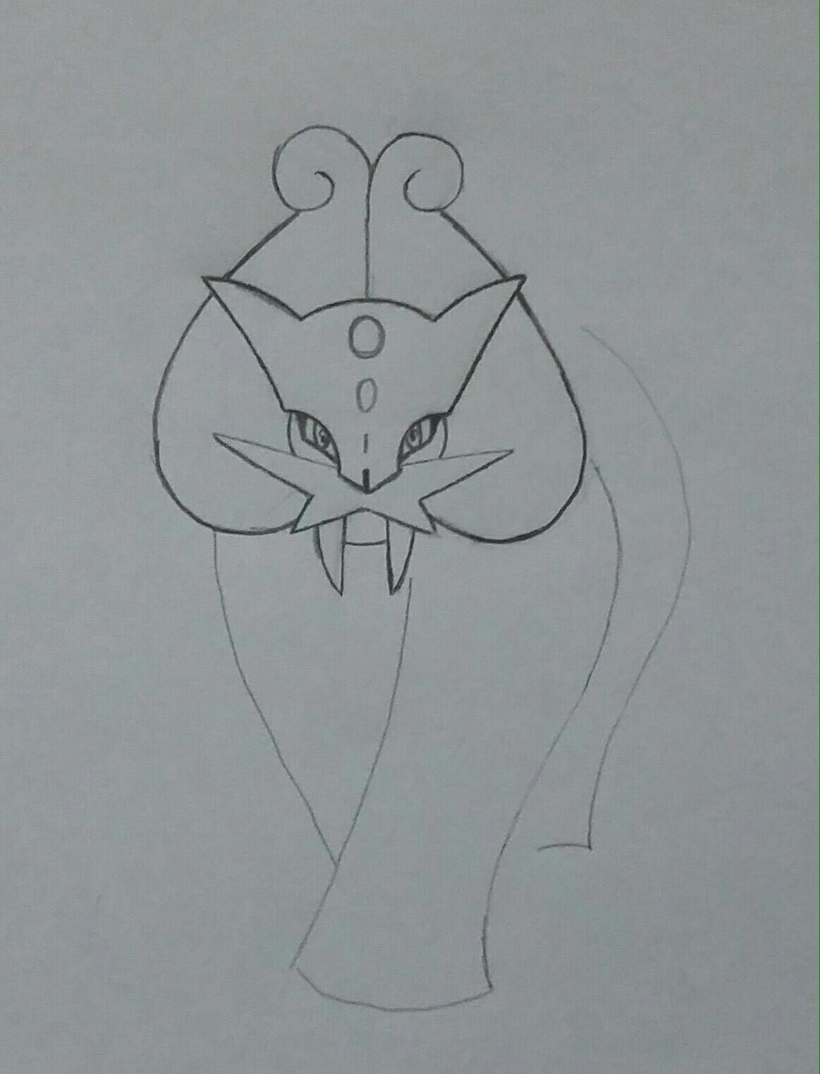 Tutorial De Desenho Raikou Shiny
