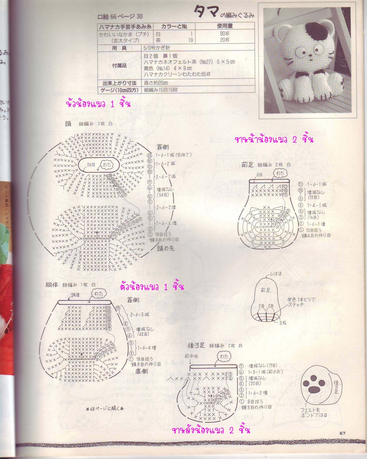 REVISTAS DE CROCHET: 2 HERMOSOS AMIGUIRUMIS | Patrones crochet