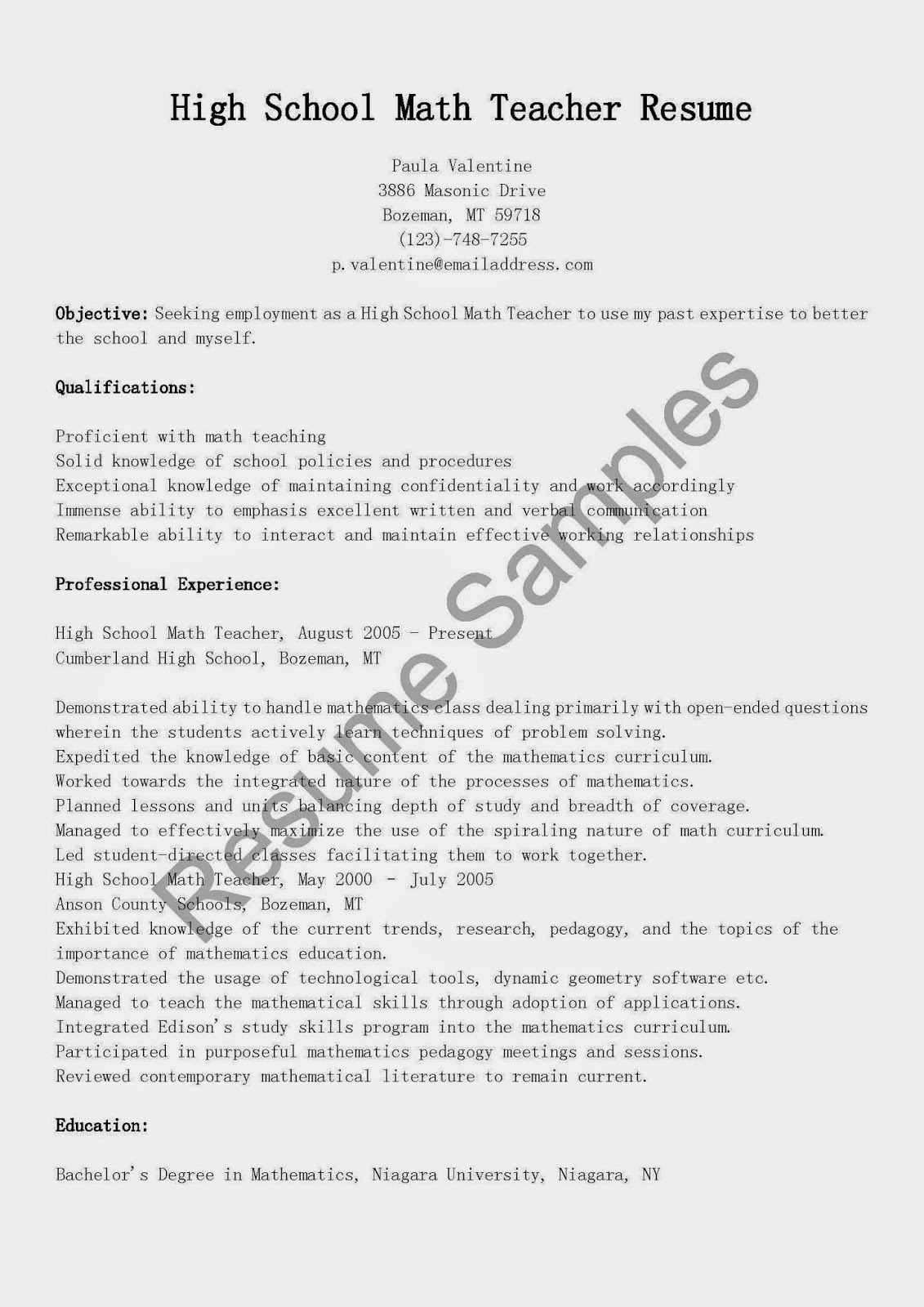 resume for maths teachers sample resume resume for maths teachers teacher resumes best sample resume resume english resume sample high school english