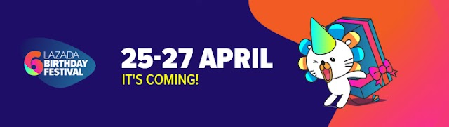 Lazada Birthday Festival Blogger Contest