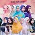 Jilbab Instan Bergo Plain Laura BPL Miulan Hijab Serut Auto Cantik Anti Tembem
