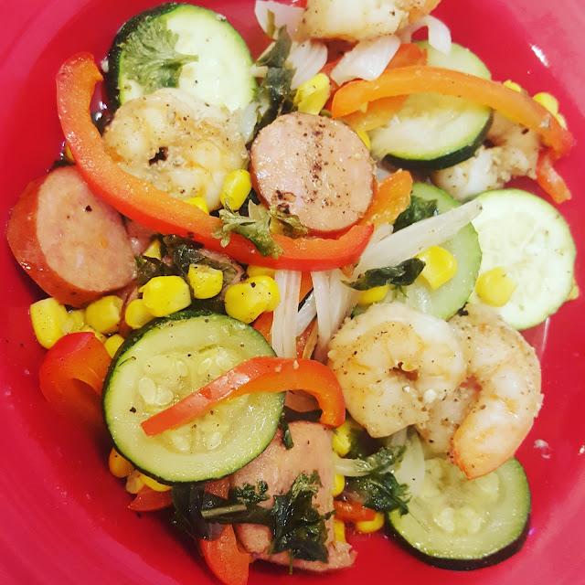 Harris Sisters GirlTalk: Cajun Shrimp Foil Packets