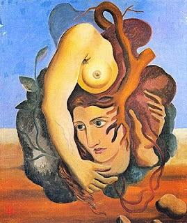"""Composição Surrealista - Ismael Nery e suas pinturas ~ O """"Pintor Maldito"""""""