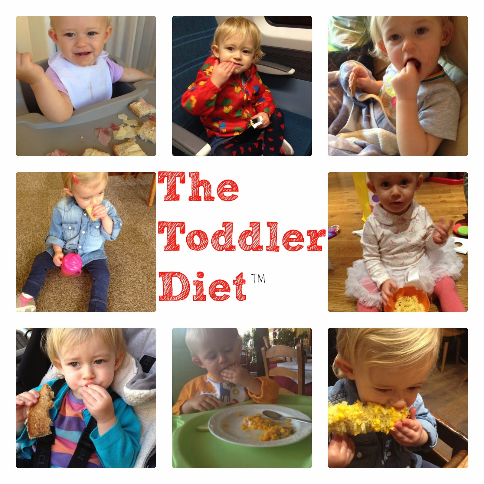 20 Diet Tips I could learn from my Toddler | V. I. BABYBRAIN