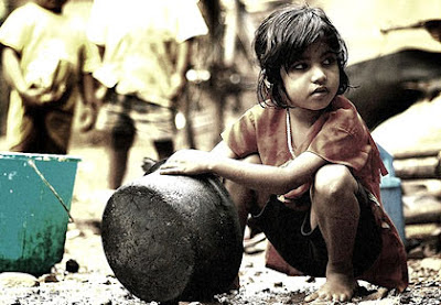 Indian child working