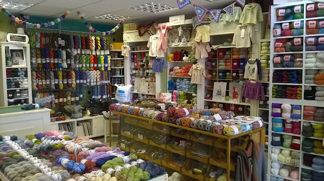 Tina's Allsorts, Ring-a-aRosie Yarns