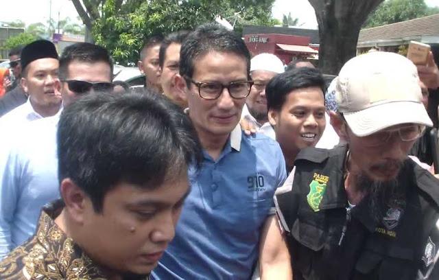 Situs Fitnah Sandiaga, Polisi Tunggu Bawaslu