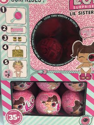 Маленькие сестрички в розовых шариках L.O.L. Eye Spy Lil Sister 2018