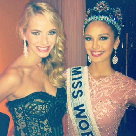 Olivia Jordan and Megan Young