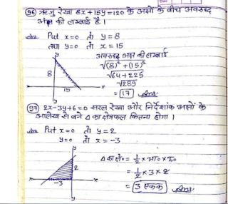 Handwritten Maths Notes