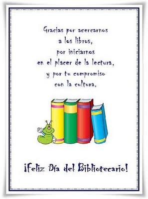 Resultado de imagen para dia del bibliotecario