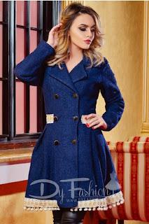 Paltoane elegante la moda iarna 2016-2017 lungi
