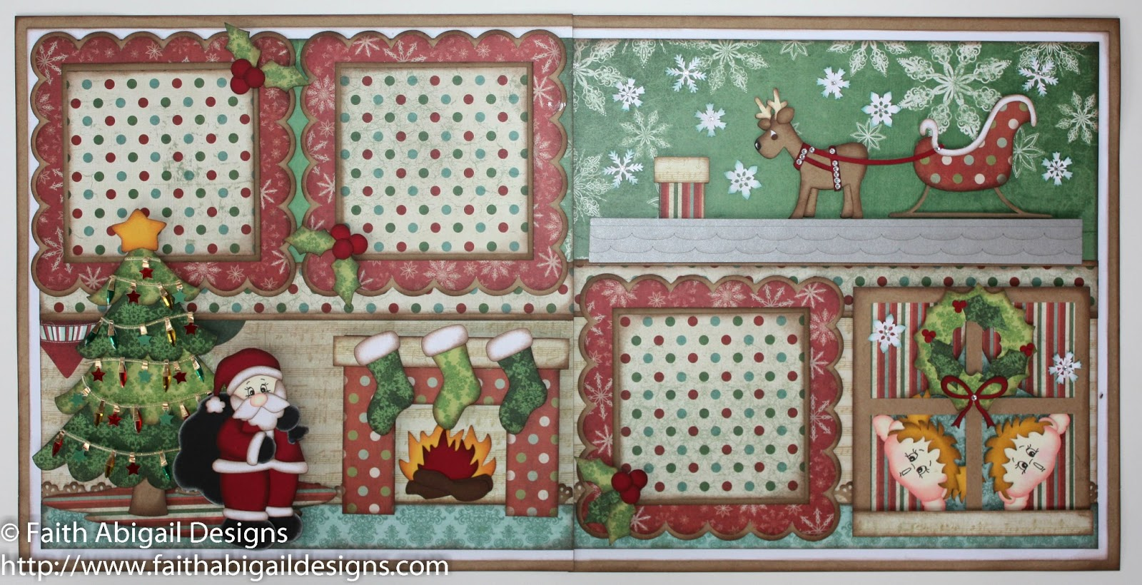 Christmas Scrapbook Double Page Layouts Free Wiring Diagram For You